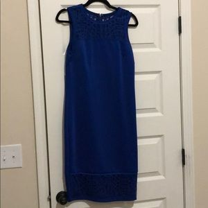 Blue Fitted Dress